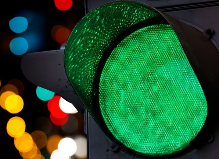 Three: green light