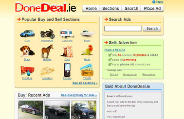 1263d4592d Classified ads website DoneDeal.ie has undergone a New Year s makeover with  the addition of new classified sections