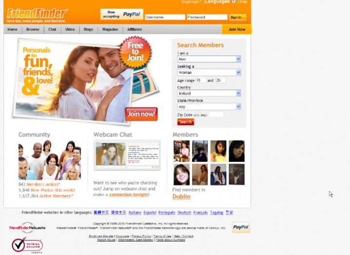 Friendfinder networks inc