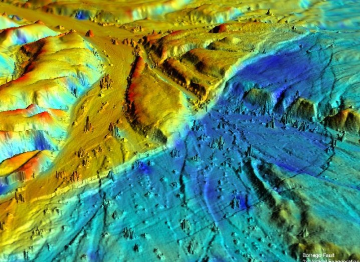 3-d-airborne-light-detection-and-ranging-lidar-oblique-view-of-the-borrego-fault