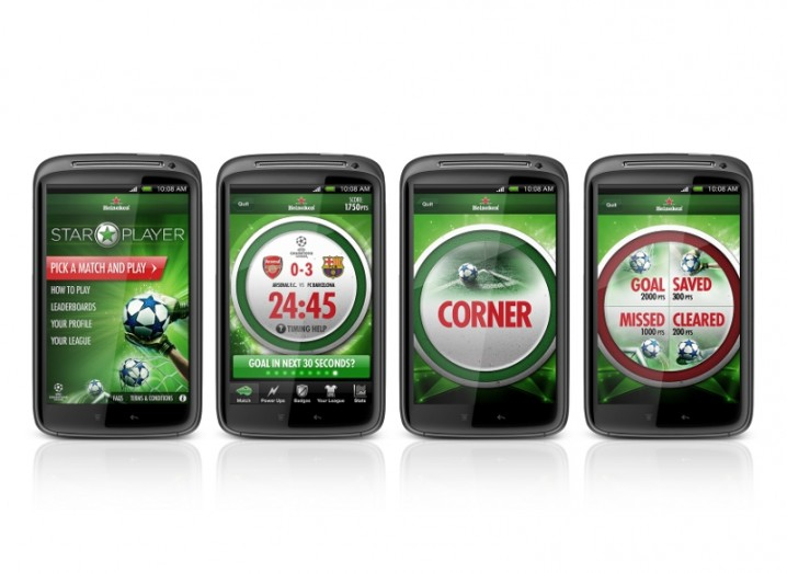 heineken-star-player-app-screens