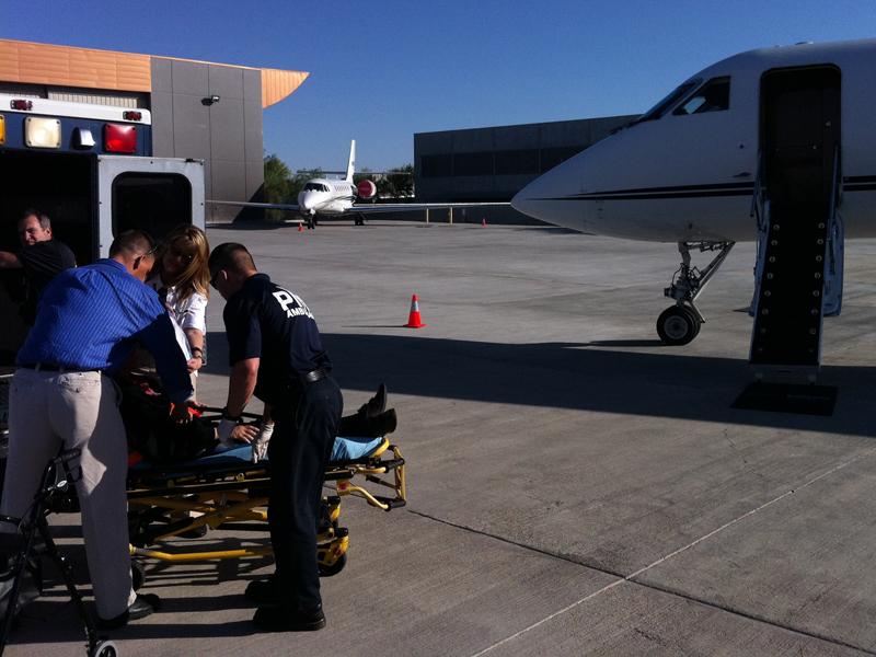 loading-air-ambulance