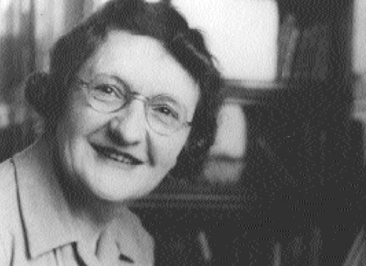 Entomologist Cynthia Longfield