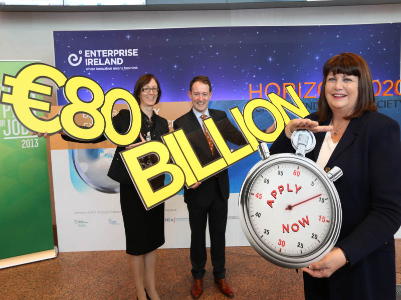 Opportunity knocks for Irish researchers and companies in €80bn Horizon 2020