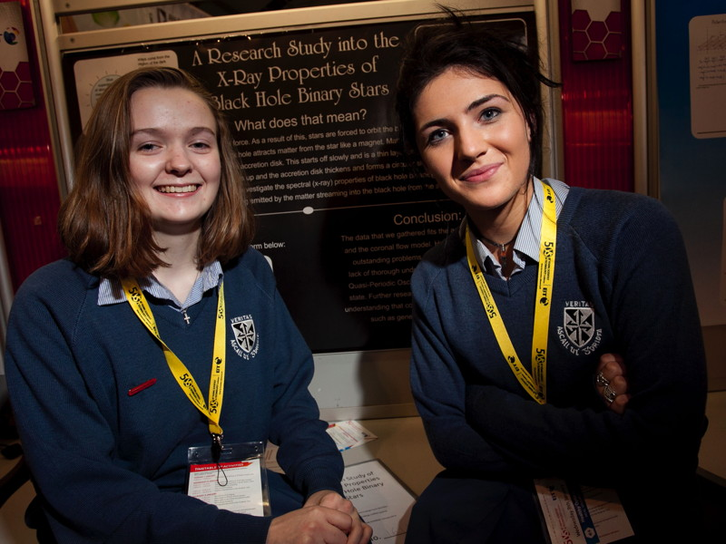 Young women scientists stir inspiration via X-rays, muons and earthquakes at BT exhibition