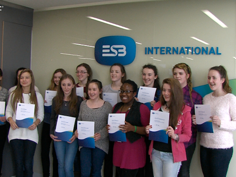 ESB International engineers raise interest in STEM among young women (video)