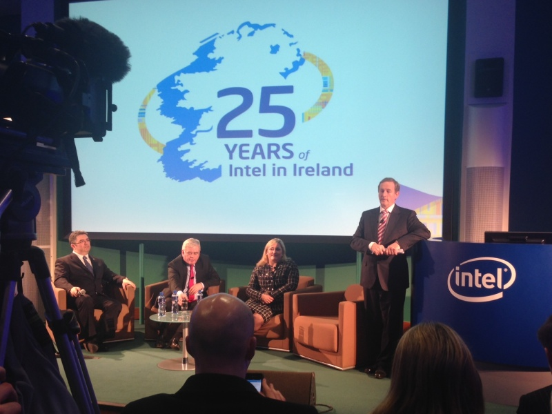 Intel has invested US$12.5bn in Ireland since it started here 25 years ago (video)