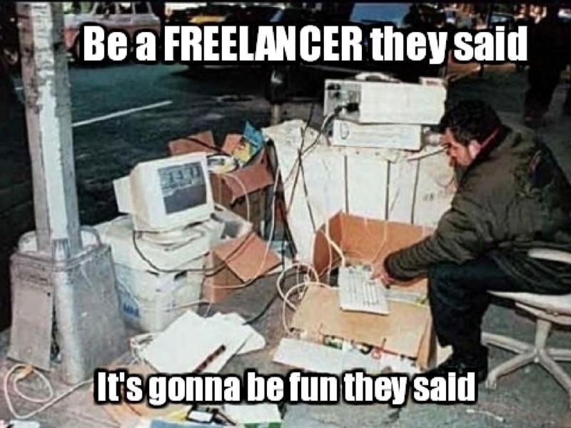 Career memes of the week: freelancer