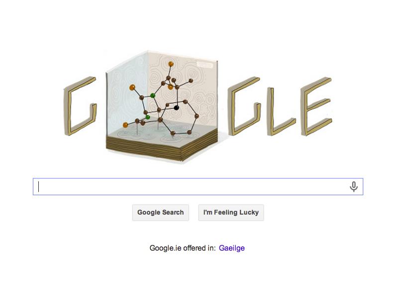 Google Doodles X-ray crystallography pioneer Dorothy Hodgkin's 104th birthday
