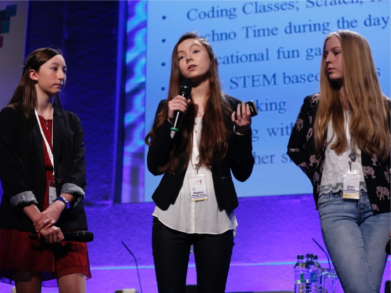 Young scientists shine at Excited digital learning festival (videos)