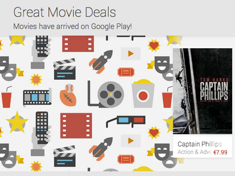 Google Play Movies now available in Ireland