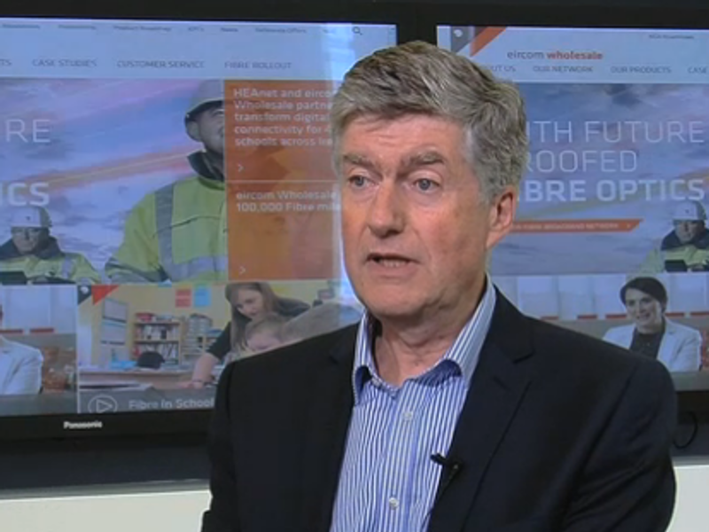 Eircom to pass 1m homes and firms with fibre this summer (video)