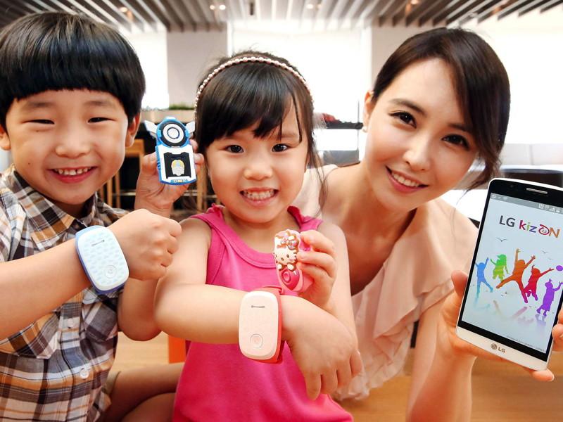 LG reveals KizON wearable child-tracking device