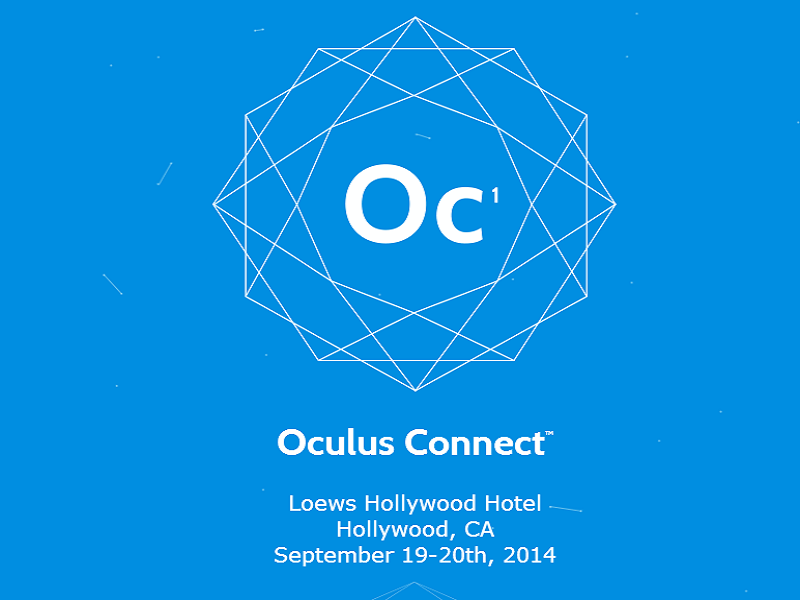 Oculus VR to hold its first VR conference this September