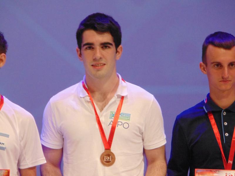 Irish teen takes home bronze in International Olympiad in Informatics