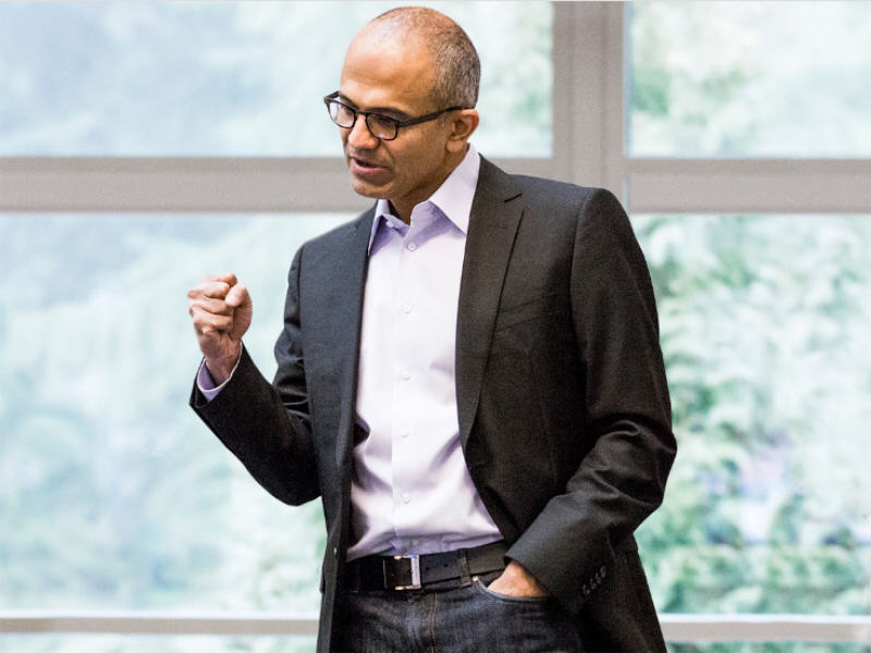 Microsoft will be the productivity engine for the internet of things, says CEO