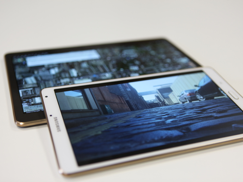Review: Samsung Galaxy Tab S – 8.4-inch and 10.5-inch tablet computers (video)