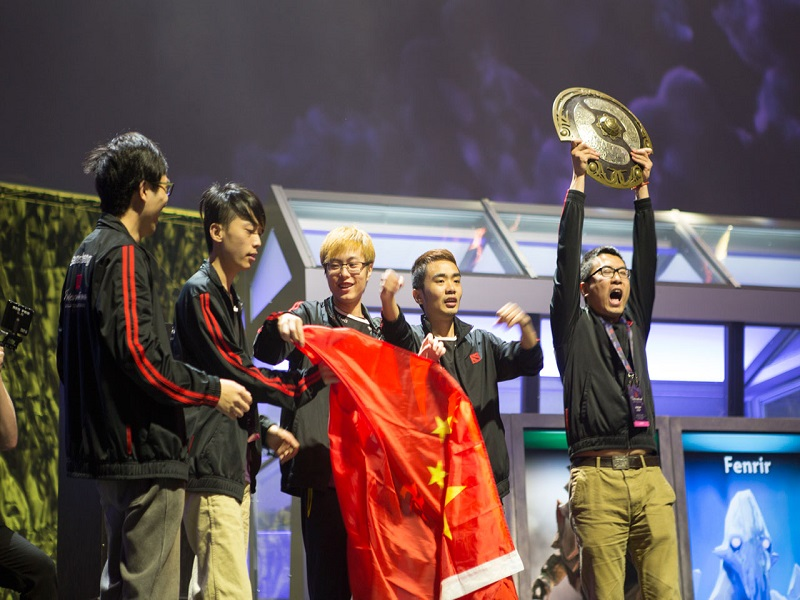 Winners of e-sports tournament receive record US$10m in prizes
