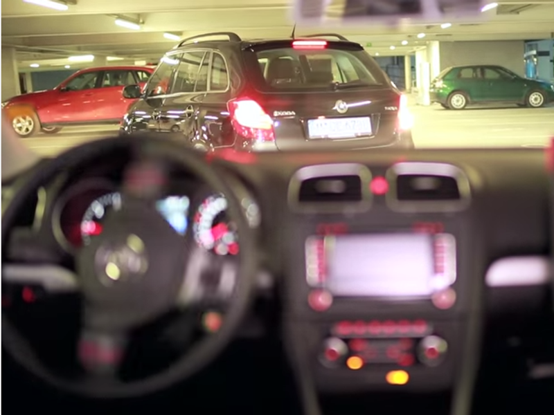 EU develops app-controlled parking system for self-driving cars
