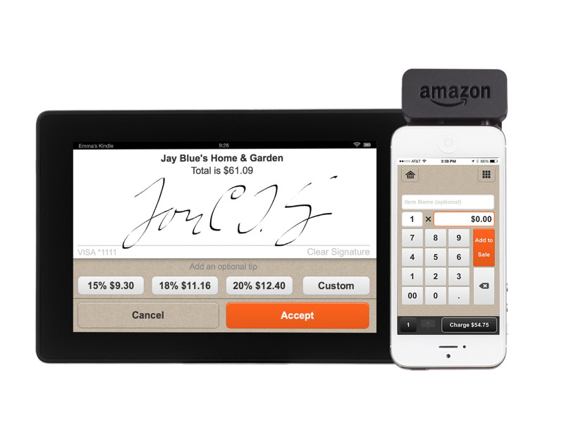 Amazon launches mobile payment app and card reader