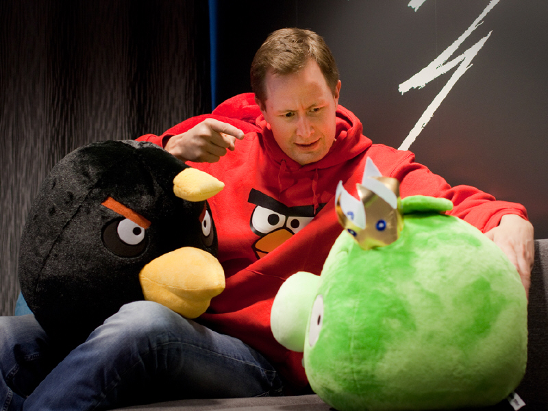 Rovio CEO Mikael Hed to step down in January