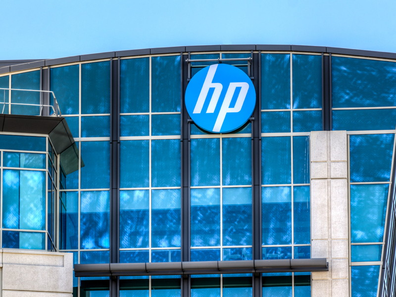 HP reports first sales increase in 11 quarters