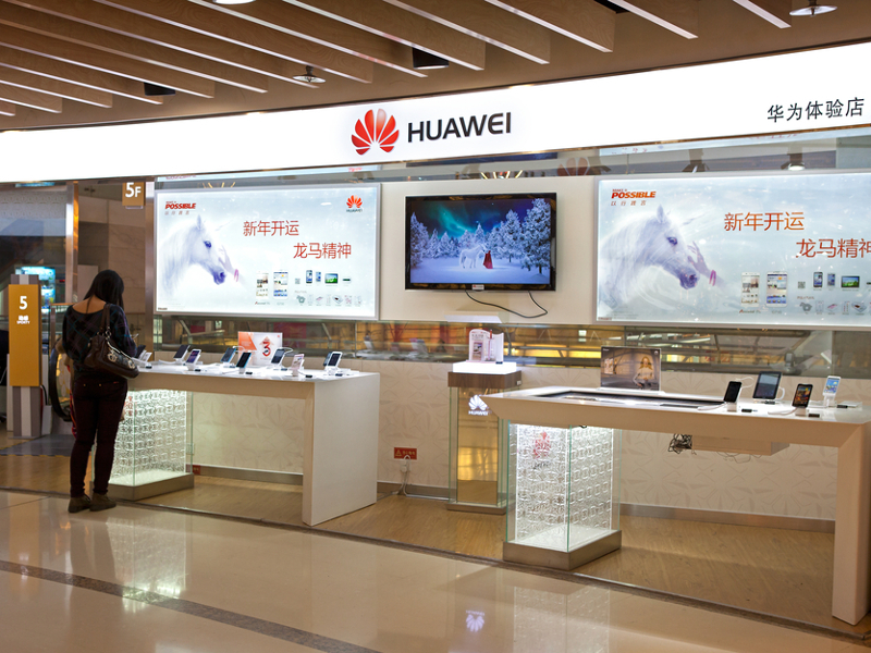 Huawei to phase out 80pc of low-end phones by end of year