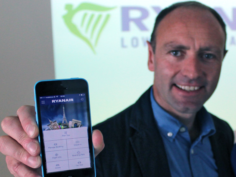 Ryanair heralds new era of ease with update to mobile app