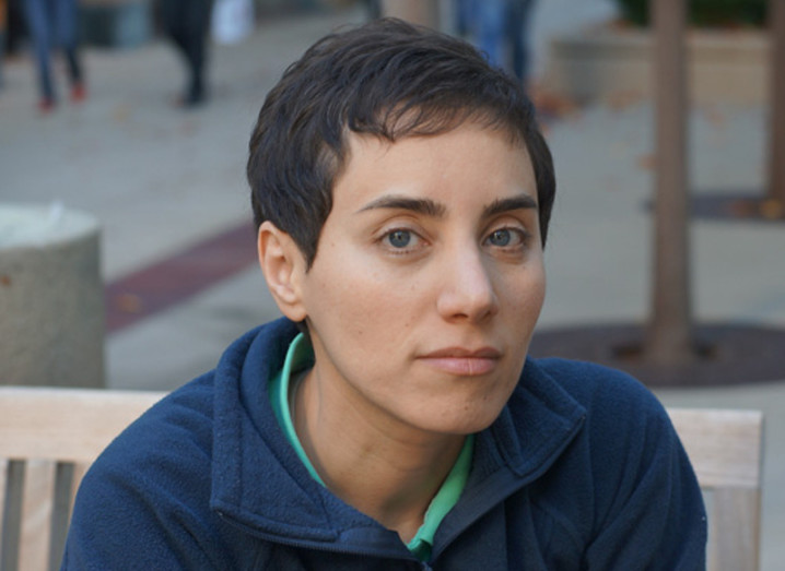 Prof Maryam Mirzakhani. Image via Stanford News Service