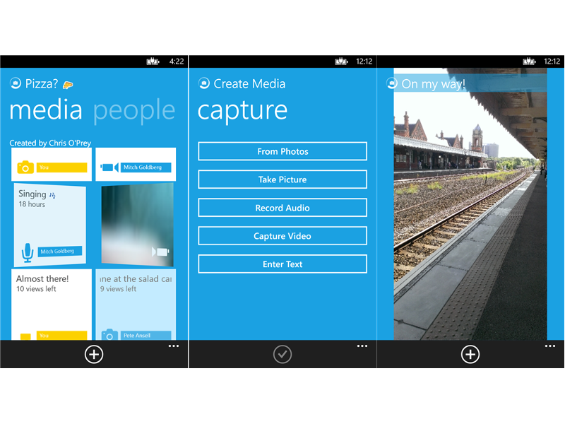 Microsoft on the WindUp with Snapchat competitor