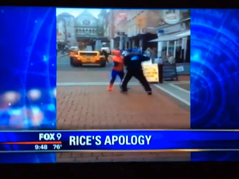 News channel airs Dublin 'Spider-Man' fight instead of footballer's apology