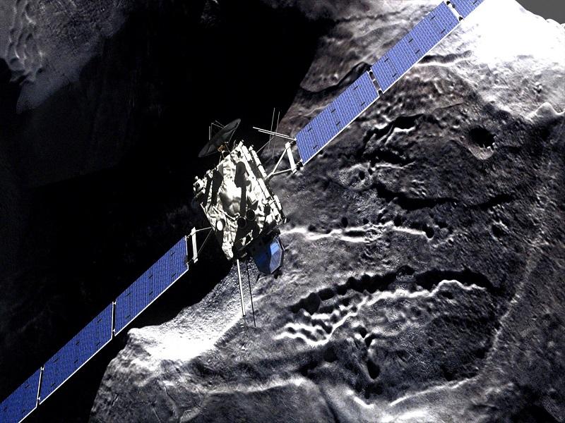 Rosetta's 10-year journey to comet reaches destination