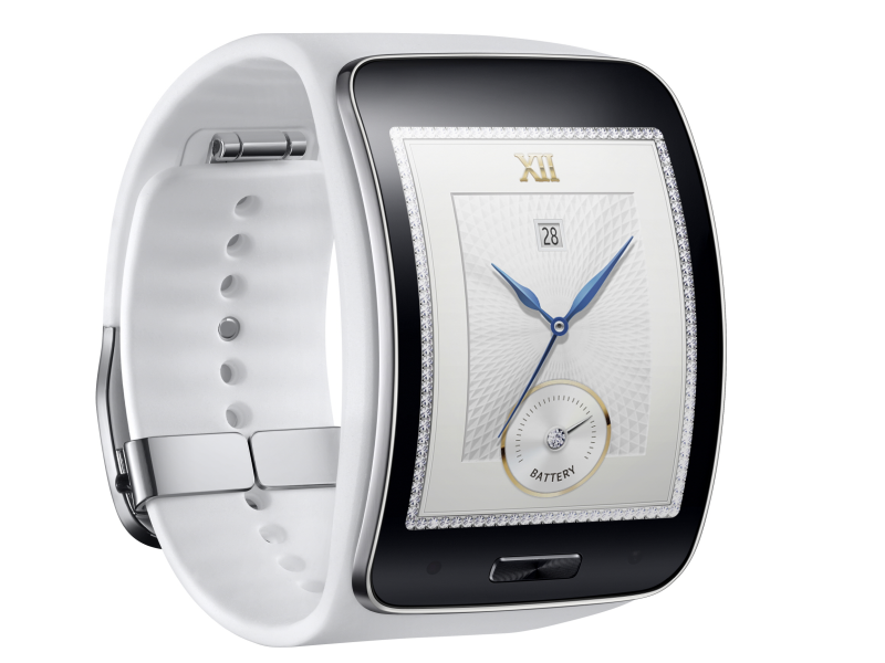 Samsung reveals Gear S smartwatch and Gear Circle smart necklace