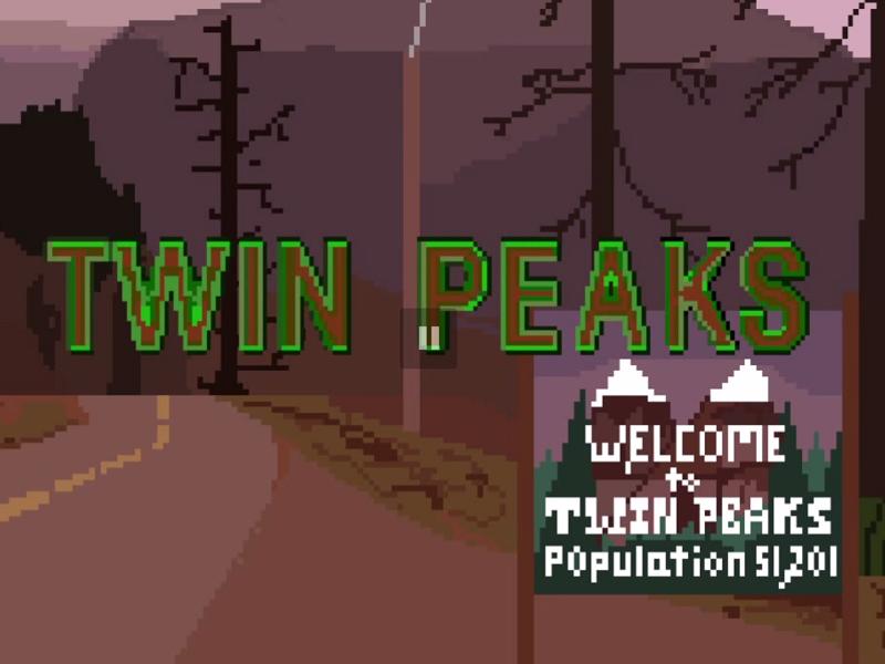 Gigglebit: Twin Peaks, NES style