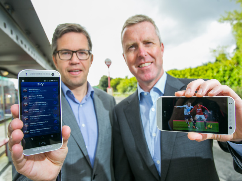 Vodafone brings sports TV packages to smartphones with Sky Sports