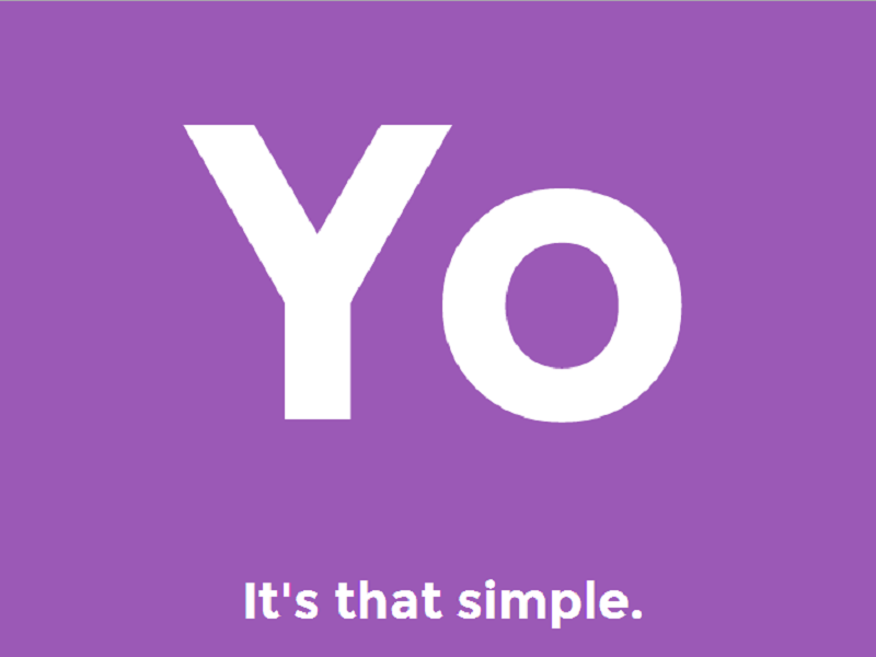 Over-simplified app Yo rolls out profile updates