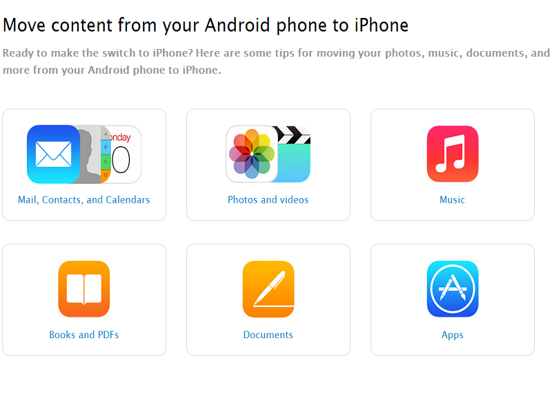 Apple tries to convert Android users with how-to iOS guide