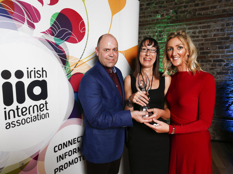 Silicon Republic CEO Ann O'Dea wins IIA award for outstanding contribution