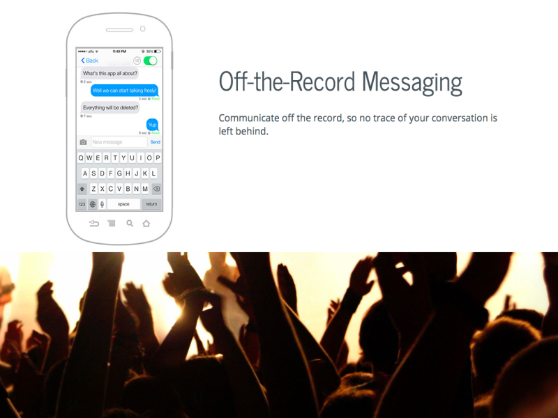 Ansa app allows you to delete messages from friends' phones