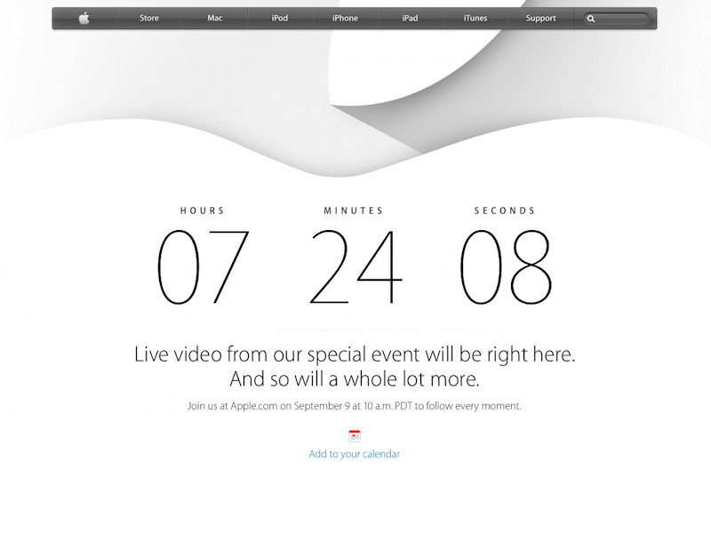 Apple online store hints at new products ahead of press event