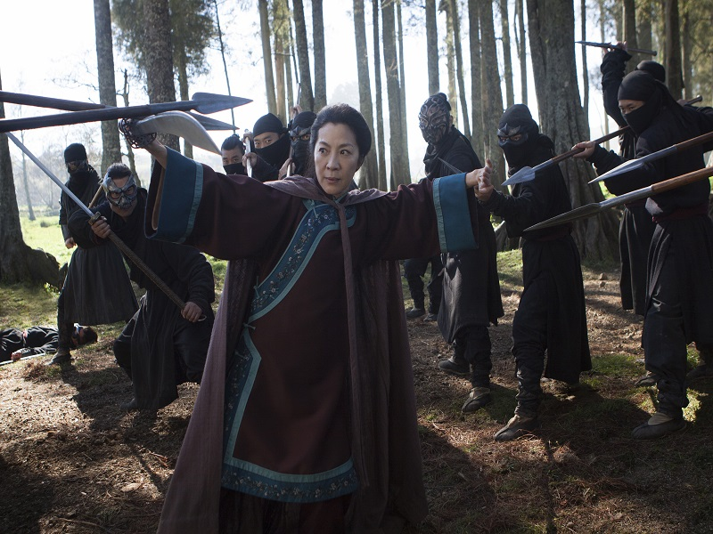 Netflix reveals first feature film, sequel to 'Crouching Tiger'