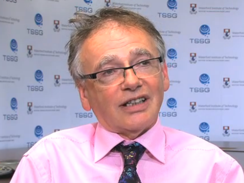 Innovation Ireland Forum – people will be at heart of IoT, says Prof Willie Donnelly (video)