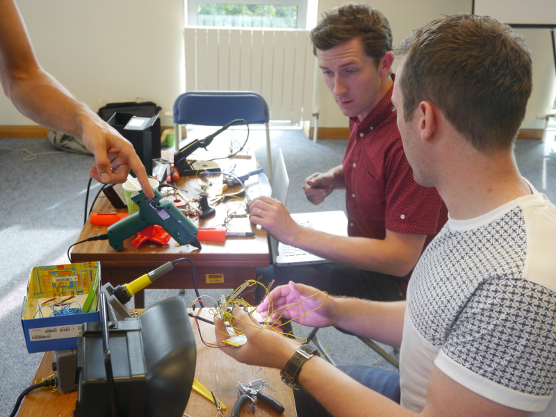 Internet of things to the fore at Hardware Hackathon (video)