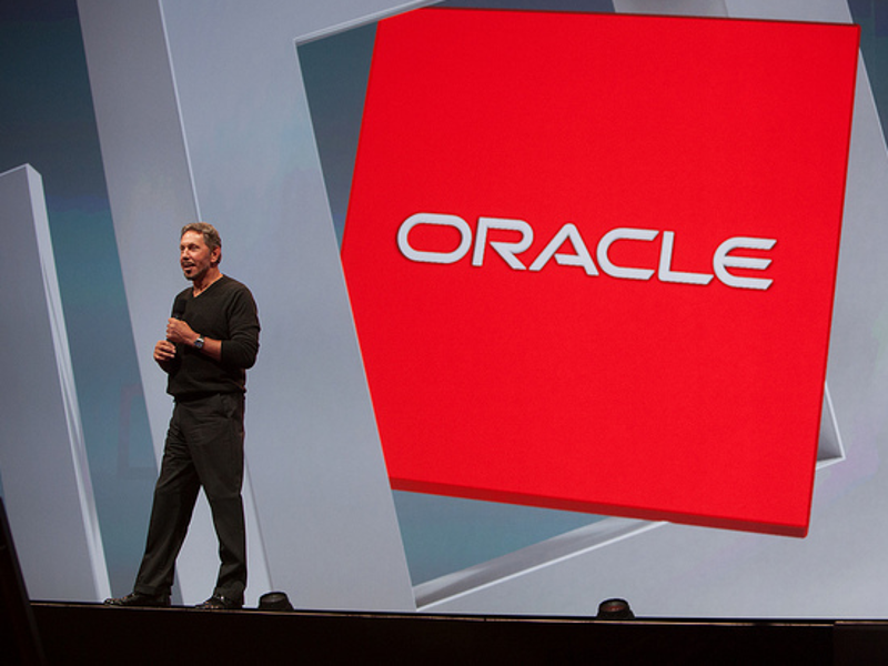 Oracle founder Larry Ellison: 'we have more SaaS than anybody else'