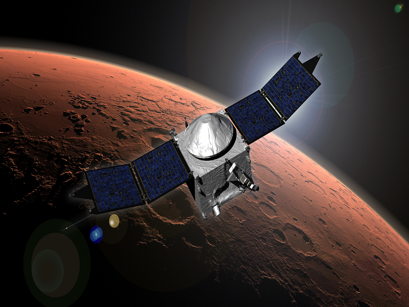 MAVEN spacecraft enters Mars orbit in search for life