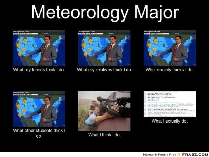 Career memes of the week: meteorologist
