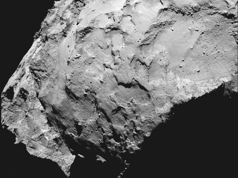 Rosetta probe Philae to land on comet's head