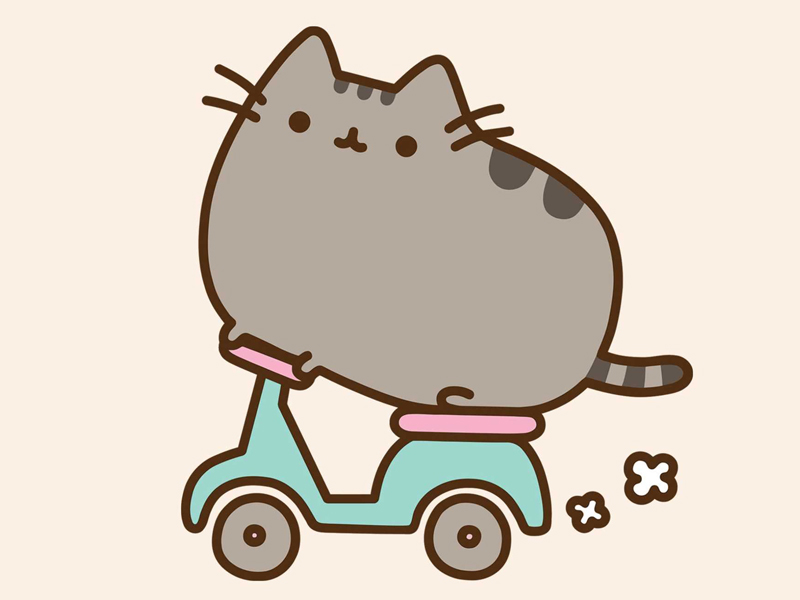 Gigglebit: 5 GIFs that will make you see Pusheen in a different light