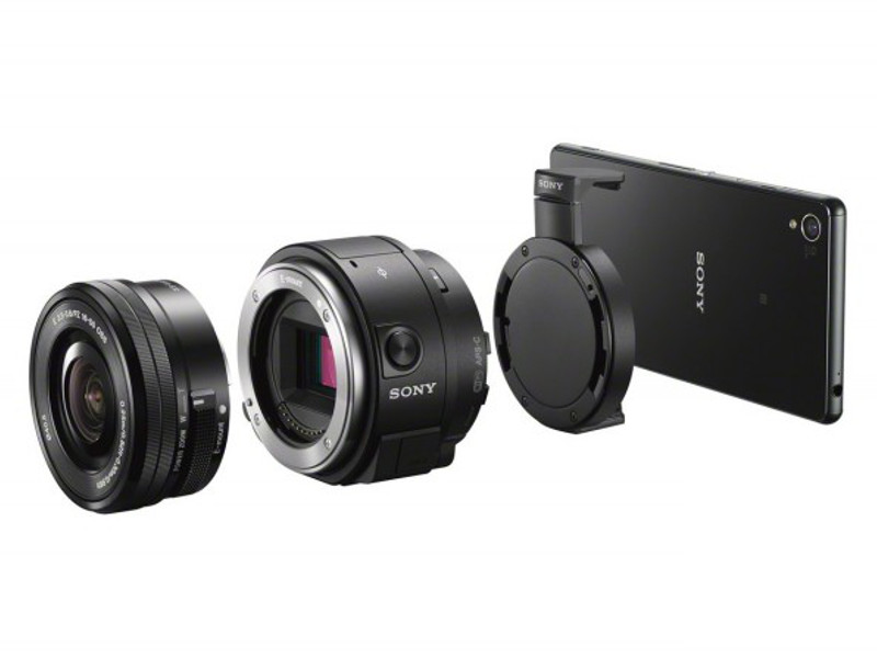 Sony's latest lens camera connects smartphones to E-mount lenses