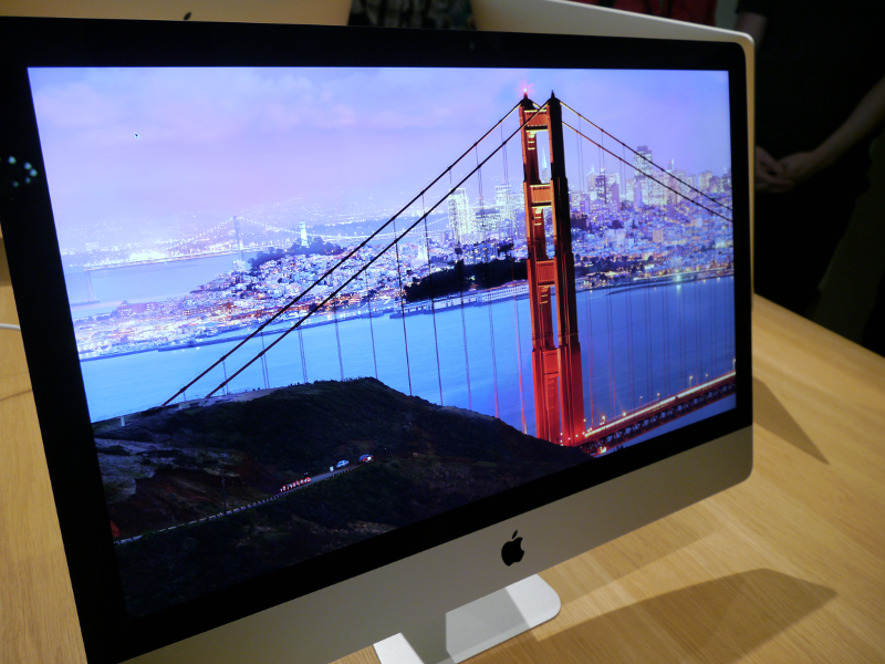First look at the new 27-inch iMac with Retina 5K Display (video)